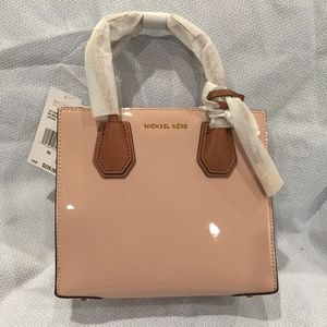 Michael Kors Patent Leather Mercer. NWT